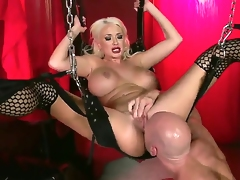 Very handsome Johnny Sins wants to drill Summer Brielle ergo much after he saw their way in those sexy stockings. She teases him until he grabs their way and just impales her.