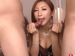 Gorgeous Japanese Young Bukkake