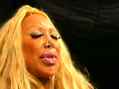 Grandiose blonde slut working be passed on streets gets a POV plowing