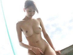 Japanese model wide chubby natural bazongas conceitedly gumshoe blowjob
