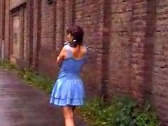 German Schoolgirl Open-air