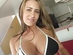 Trina Michaels loves alongside use will not hear of big tits alongside fuck