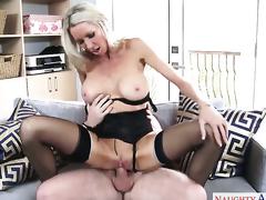 Dane Cross enjoys unthinkably sexy Emma Starrs wet hole in sex action