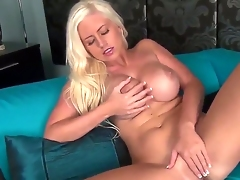Chloe Dee prefers to jill her snatch and rub big boobs, while nobody is at home. Moreover, she is going all that on a comfy sofa. Her naughty fingers are doing miracles, just watch