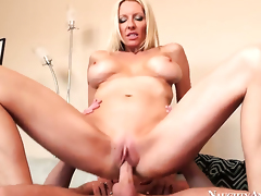 Sonny Hicks gives Horny Emma Starrs love box a try in steamy action
