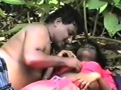 Sexy Indian playgirl in jungle