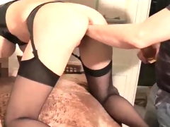 Big-Titted oustanding hooter bitch brutally dual fisted and toy made love