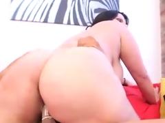 Plump Big-Titted spanish xxx star Angelina Castro fucks A Fan
