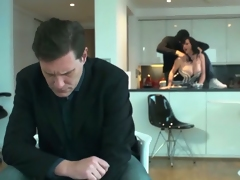 Jasmine James fucking a guy while hubby is around