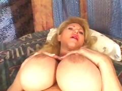 Big Fucking Titty Milf getting Fucked