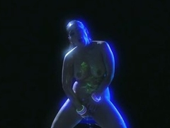 Busty Brunette MILF Jessica Bangkok Masturbates On The Dance Floor