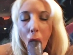 Fiona Cheeks acquires on her knees to engulf off a giant black dong. One Time that babe is through her cookie acquires pounded until this babe creams all over that hard cock!!