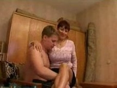 Russian fat titted mom.