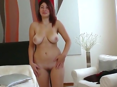 Nanny enjoys make all of her fans get so damn hard and horny when she jiggles her boobs