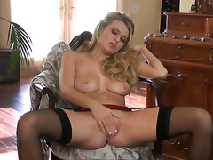 Natalia Starr has some time to play with her love box