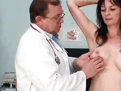 Amateur Mother vag exploration by wicked gyn M.D.