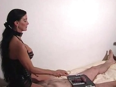 Femdom cock torture with carmen rivera