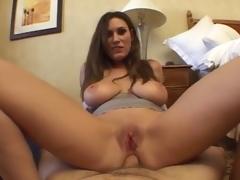 Busty Girl POV Anal Sex