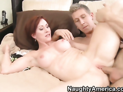 Danny Wylde is horny and cant wait any longer to screw With huge hooters and shaved bush