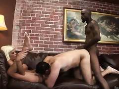 Jordan Blue gets her many times used mouth stuffed again by horny man