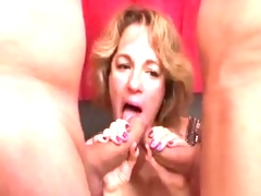 BBW Sophia Gang Bang
