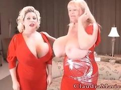 Claudia Marie And Kayla Kleevage PhotoShoot