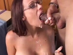 Smut milf inside stockings takes shafted