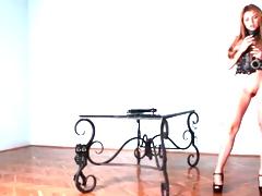 Marina Visconti models tight looking cunt