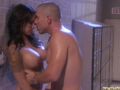 Sexy shower fuck with hot neonate Nadia Styles
