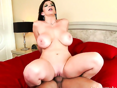 Mr. Pete uses his hard ramrod to bring Sara Jay to the height of fun