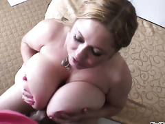 Naughty cutie Samantha Anderson and hot fellow Manuel Ferrara are horny for each other