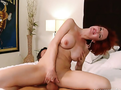 Alan Stafford is horny and cant await any more to drill Veronica Avluv with big tits and bald beaver