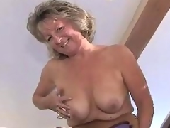 Adorable Granny In Girdle And Se...