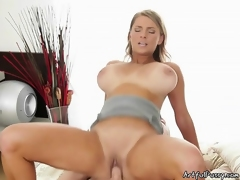 Filling Her Tight Hole Up With Huge Cock