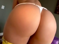 Amazingly hot assed Alexis Texas bares her corpulent butt for everyone's  desire