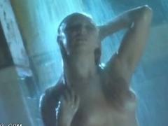 Busty Playgirl Kristin Novak Having a Shower