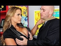Johnny, now a  wealthy pharmaceutical chemist, makes a surprise visit to his old teacher Mrs. Rae, where this chab promptly enrages Alanah by telling her students that they don't need her teaching to be successful. But Alanah still has a small in number things to teach him, and this babe shows him that no matter how successful that boy becomes, when this guy's on her turf, this babe can do as this babe pleases, and this day that babe pleases to get her moist crack fucked.