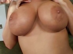 Big tits and banging with horny honey Whitney Stevens