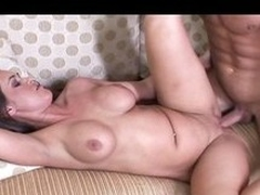 Hot mom forth big booty together with ripe tits shows off her eagerness up fringe