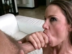 Bitchy Mckenzie Lee receives splattered with hawt cum on her Messy Mouth