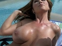 Horny broad in the beam titted MILF Kianna Dior