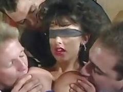 Sarah Young Blindfold 6 Man Gangbang