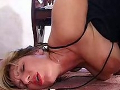 Big tits mature banged in ass