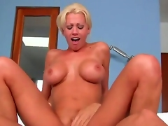 Hello to everyone! This is a crazy and hot fuck with a passionate girlfriend named Tanya James and her fucker Nick Manning! She fucks like a horny whore! Watch and enjoy!