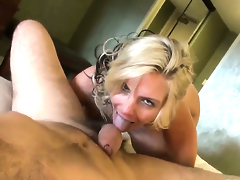 Phoenix Marie offers her back yard to Manuel Ferrara after she gets her face hole used