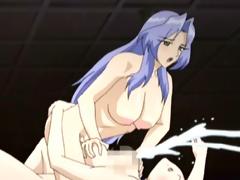Shemale hentai sexy tittyfucking