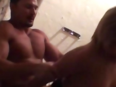 Busty cfnm amateur doggystyle fucked from behind