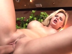 Biggest core blonde bonking
