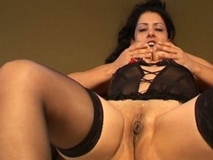 Massive tits latina milf naughty solo pussy teasing nasty show